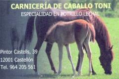 CARNICERIA DE CABALLO TONI
